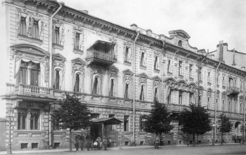 Здание штаба Отдельного корпуса жандармов. 1900 г..