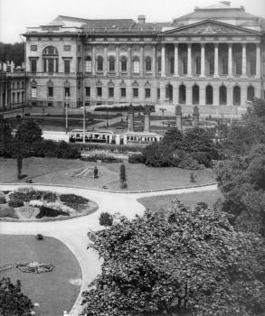 Фотоателье Буллы, Вид на Михайловский дворец. 1913 г..