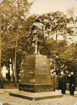 Булла К. К., Памятник Петру I на Кирочной улице. 1910-е.