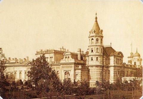 Неизвестный фотограф, Дворец великого князя Алексея Александровича на набережной Мойки. 1890-е гг..