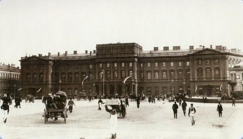 Булла К. К., Мариинский дворец на Исаакиевской площади. 1890-е.