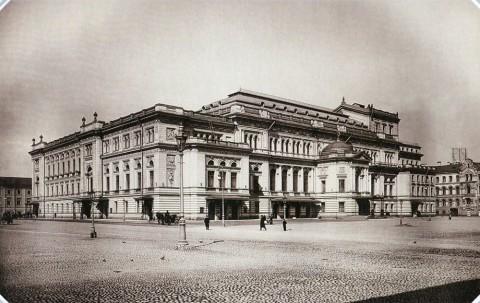 Булла К. К., Консерватория. 1890-е гг..