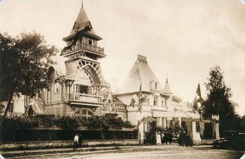 Штейнберг Я. В., Дача М. Э. Клейнмихель на Каменном острове. 1920.