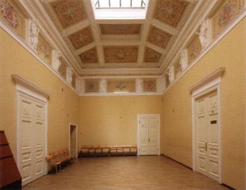 Общий вид Помпейского зала в доме С. Сиверс.