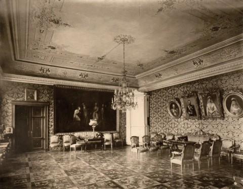 Здание французского посольства. Приёмная. 1909.