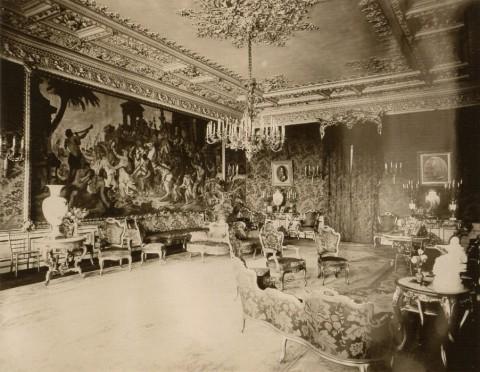 Здание французского посольства. Большая гостиная. 1909.