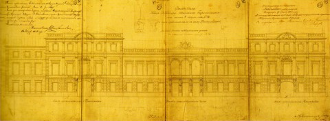 Боссе Г. Э., Проект расширения особняка князей Барятинских. 1858.