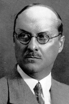Архитектор А. А. Юнгер. 1930-е.