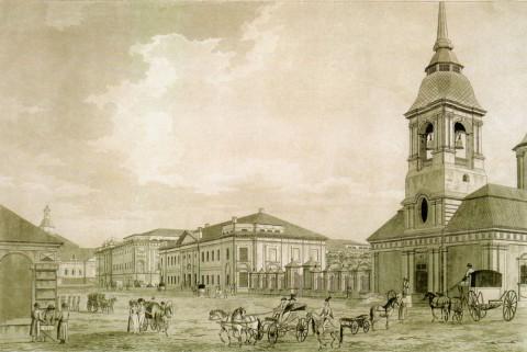 Малтон Т., Арсенал и Литейный двор. 1790.