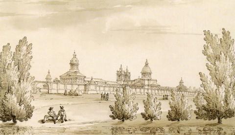 Кваренги Дж., Александро-Невская лавра. 1780-е гг..