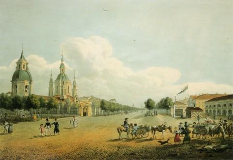 Беггров К. П., Церковь Андрея Первозванного. 1820-е гг..