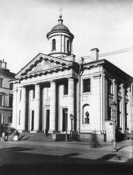 Матвеев Н. Г., Лютеранская церковь святой Марии. 1900-е гг..