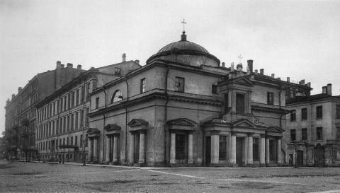 Неизвестный фотограф, Костёл святого Станислава. 1920-е гг..