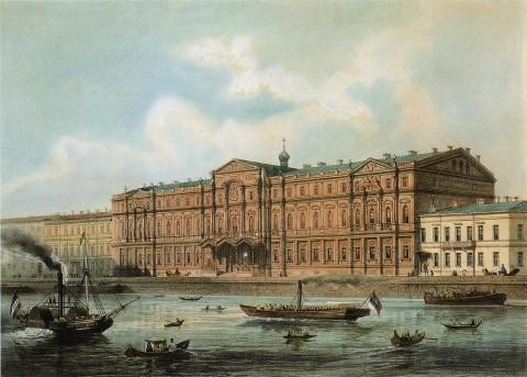 Жакотте Л. Ж., Ново-Михайловский дворец. кон. 1850-х гг..