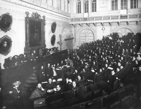 Булла К. К., Съезд представителей старообрядческих общин в зале Городской думы. 1912-1913 гг..