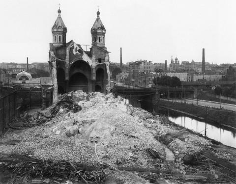 Неизвестный фотограф, Разрушение Мирониевской церкви. 1935.