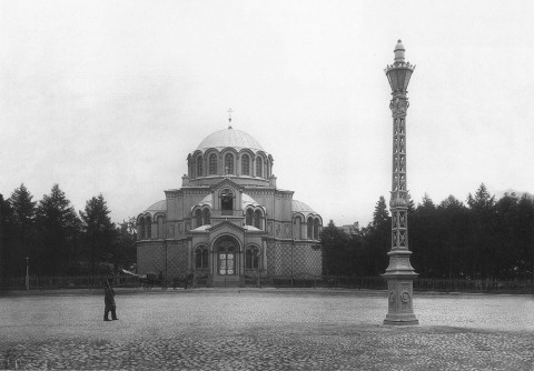 Фотоателье Буллы, Греческая церковь великомученика Дмитрия Солунского.