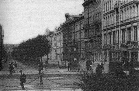 Малая Конюшенная улица. 1920-е.