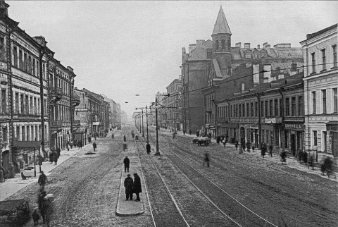 Перспектива улицы Декабристов. 1930 г..