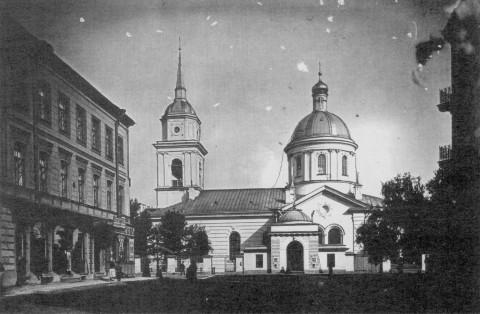 Покровская церковь в Большой Коломне.