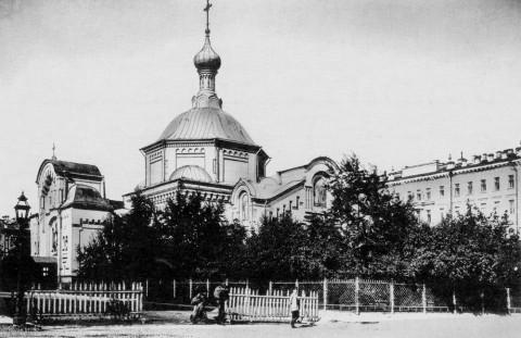 Церковь во имя св. Космы и Дамиана Лейб-гвардии Сапёрного батальона.