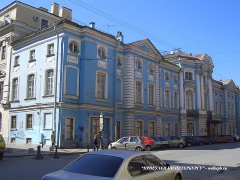 Дворец И. И. Шувалова. 2006.04.23.