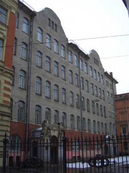Кирочная ул., 8/Б. 2007.01.14.