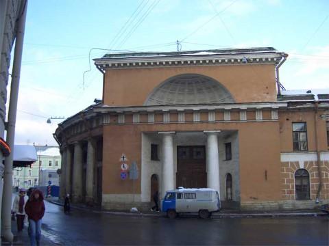 Фрагмент здания Конюшенного двора. 2006.11.04.