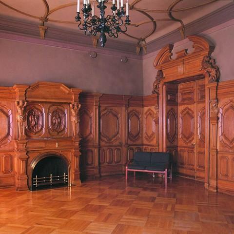 Зал в особняке М. В. Кочубея.