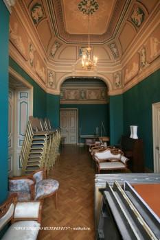 Библиотека в особняке М. В. Кочубея. 2009.03.01.