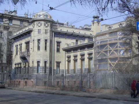 Особняк М. Ф. Кшесинской. 2006.03.18.