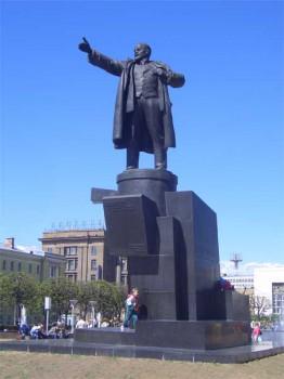 Памятник В. И. Ленину. 2006.06.03.