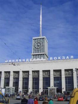 Финляндский вокзал. 2007.04.14.