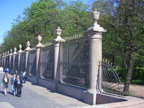 Ограда Летнего сада.
