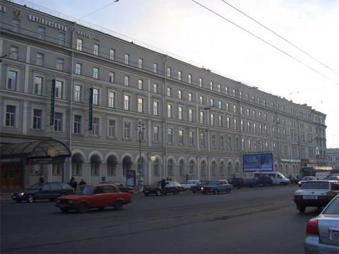 Гостиница «Октябрьская». 2005.12.11.