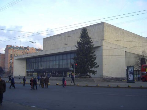 БКЗ «Октябрьский». 2005.12.11.