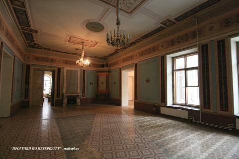 Бильярдная в доме И. В. Пашкова. 2009.02.13.
