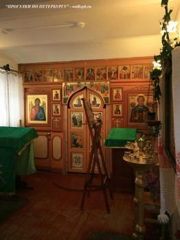 Чернега А.В., В часовне при Никольской единоверческой церкви. 10.06.2012.
