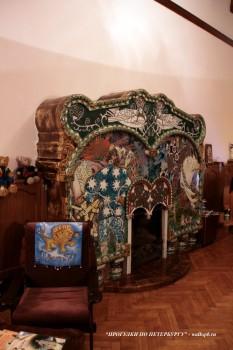 Камин в Кабинете дома Ф. Г. Бажанова. 2009.02.02.