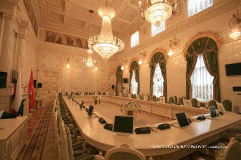Зал в Мариинском дворце. 2009.03.05.