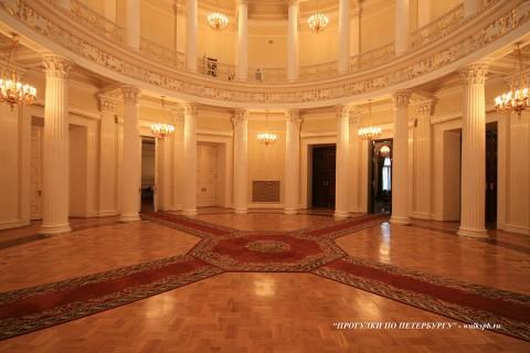 Ротонда в Мариинском дворце. 2009.03.05.