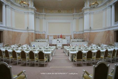 Зал заседаний в Мариинском дворце. 2009.03.05.