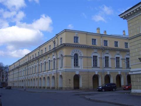 Новобиржевой Гостиный двор. 2007.05.05.