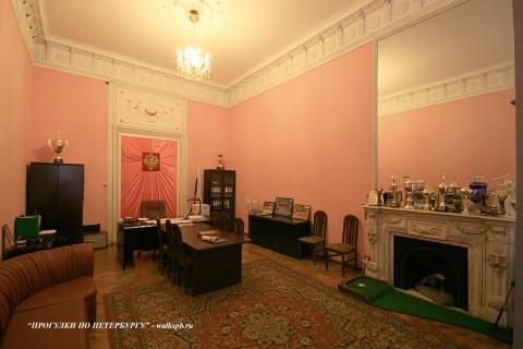 Комната в особняке С. С. Абамелек-Лазарева. 2009.03.27.