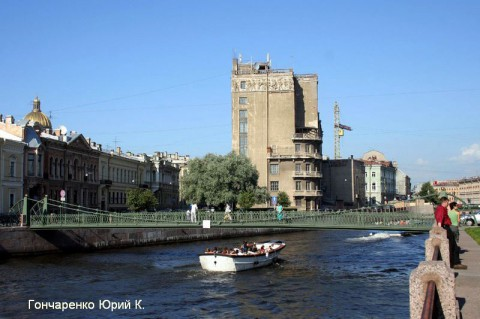 Гончаренко Ю.К., Почтамтский мост.