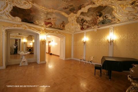 Комната К.Р. в Мраморном дворце. 2010.02.14.