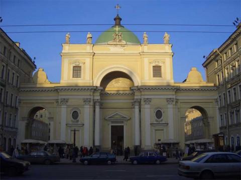Костёл святой Екатерины. 2006.05.23.