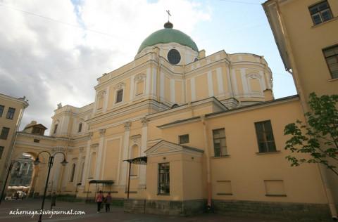 Чернега А.В., Костёл святой Екатерины. 18.05.2012.