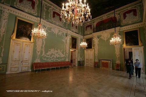 Большой зал (Зал Растрелли) в Строгановском дворце. 2010.02.28.