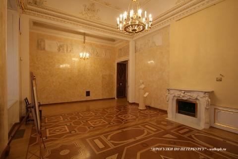 Греческая комната в Строгановском дворце. 2010.02.28.